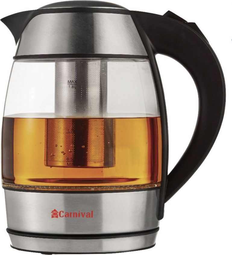 Carnival Glass Kettle with filter